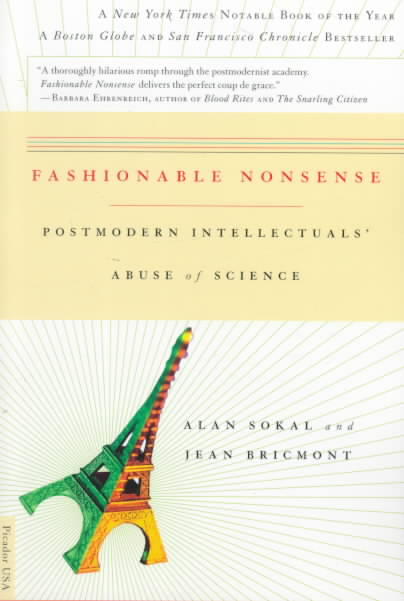 Fashionable Nonsense By Sokal, Alan D./ Bricmont, Jean